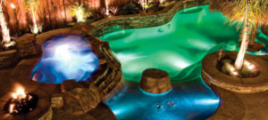 Pool Lighting, Pump and Equipment