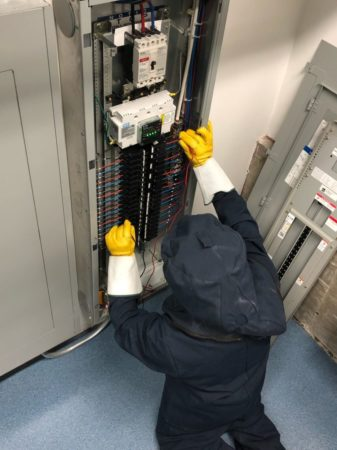 High Voltage Electrical Board Checkup